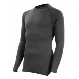 Tee-shirt Technical Line noir Col rond - Summit Outdoor