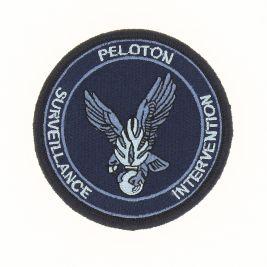 Écusson PSIG Gendarmerie Basse Visi. Bleu