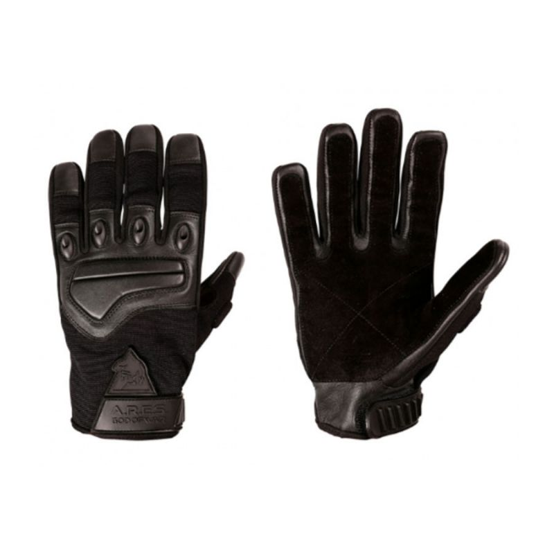 Ares Gants intervention cuir