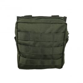 Pochette utilitaire MOLLE moyenne vert olive - Kombat Tactical