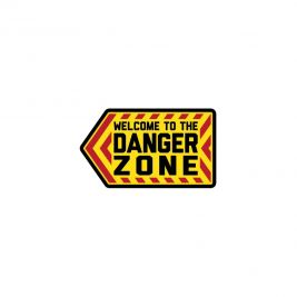 "Patch moral ""Danger Zone"" en PVC - Mil-Spec"