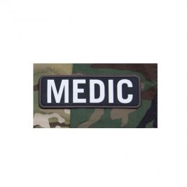 "Patch moral ""Medic"" swat en PVC - Mil-Spec"