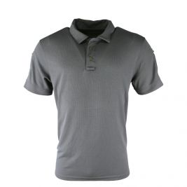 Polo Tactical Ventex respirant gris - Kombat Tactical