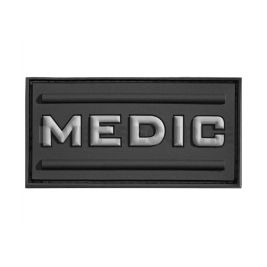 Patch médic rubber noir - JTG