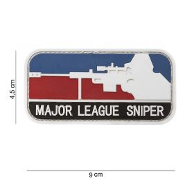 "Patch 3D en PVC ""Major Sniper Color"" - 101 Inc"