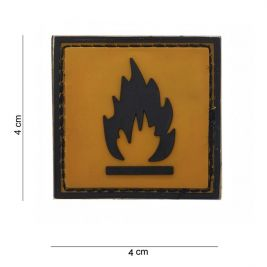 "Patch 3D PVC ""Inflammable"" - 101 Inc"