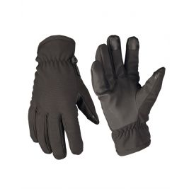 Gants softshell Thinsulate Noir - Miltec