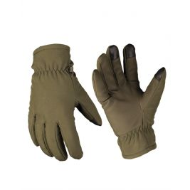 Gants softhsell Thinsulate Vert Olive - Miltec