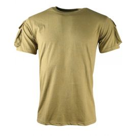 Tee Shirt Tactical - Coyote - Kombat Tactical