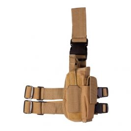 Holter de Cuisse Tactical Coyote - Kombat Tactical