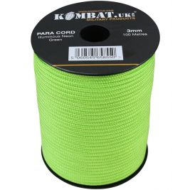 Paracord - 100m Reel - Neon Green