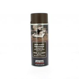 Bombe de peinture militaire Marron 400 ml - Fosco Industries