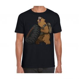 Tee-shirt Grizzly Fitness Noir GRIZFIT - 5.11 Tactical