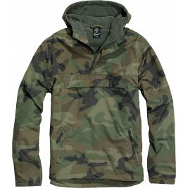 Coupe-vent Windbreaker Woodland - Brandit