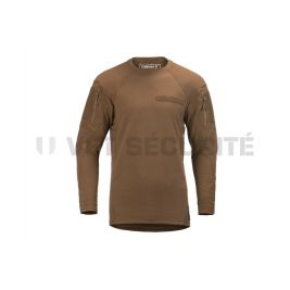 Tee shirt tactique manches longues MKII Instructor Coyote - Clawgear