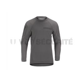 Tee shirt tactique manches longues MKII Instructor Gris - Clawgear