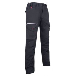 Pantalon de travail battle canvas Noir - BASALTE - LMA