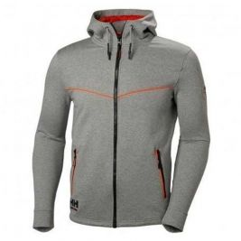 CHELSEA EVOLUTION HOOD GREY MELANGE - HELLY HANSEN