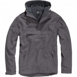 Coupe-vent Windbreaker Gris Anthracite - Brandit