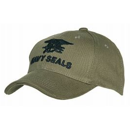 Baseball cap Navy Seals Green - Fostex Garments