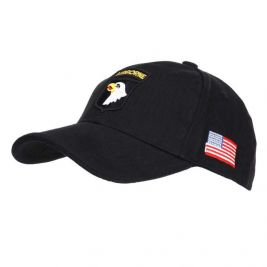Baseball cap 101st Airborne Black - Fostex Garments