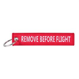 Porte-clés remove before flight (double side) - Fostex Garments