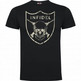 Tee-shirt INFIDEL 100% coton- Army Design by Summit Oudoor