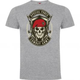 Tee-shirt Combat Army Gris Chiné - Army Design by Summit Outdoor