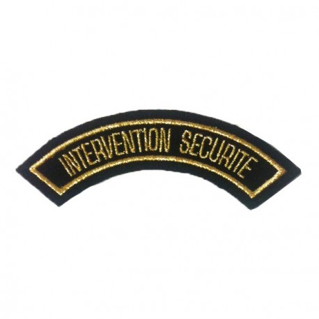 Badge INTERVENTION SECURITE