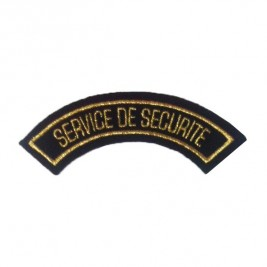 Badge SERVICE DE SECURITE