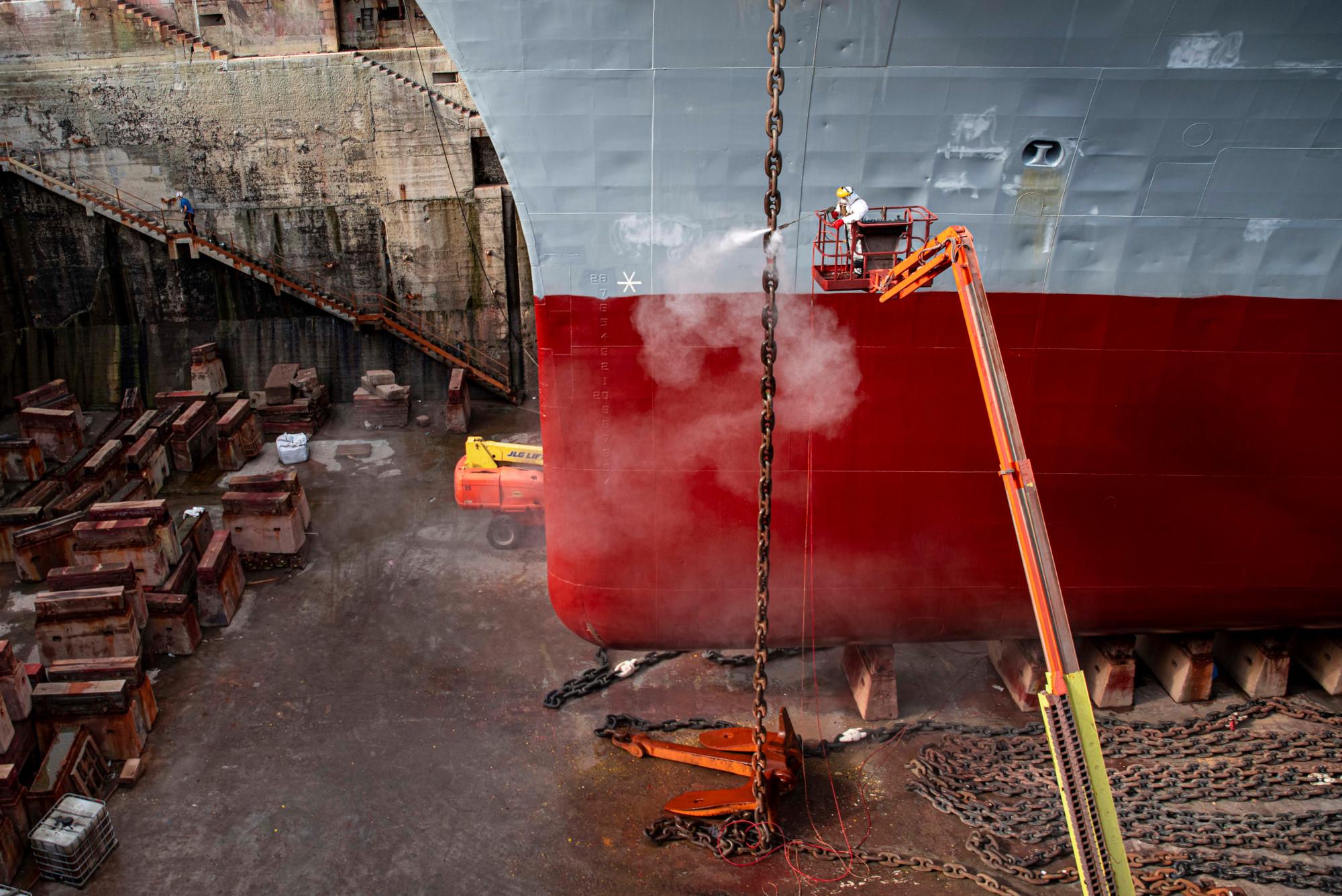 La métallurgie au service du domaine naval.