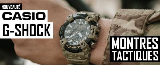 Nouveauté montres tactiques Casio