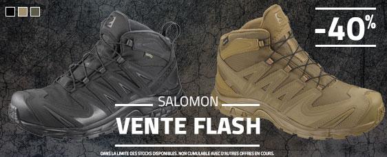 Vente flash sur les Salomon