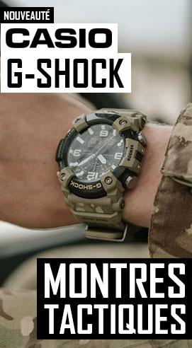 Nouvelles montres Casio