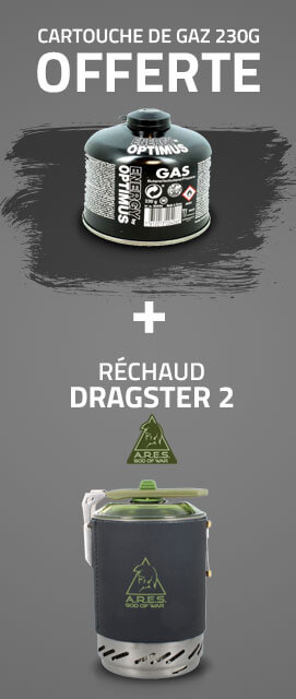 RÉCHAUD DRAGSTER 2 - ARES
