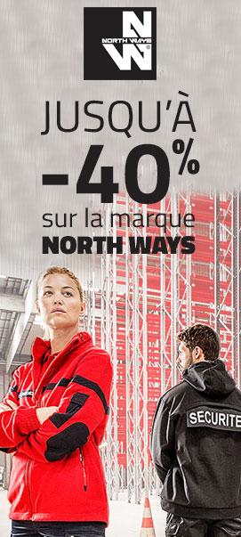 jusqu'à -40% sur la marque NorthWays