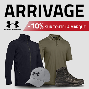 Arrivage Under Armour